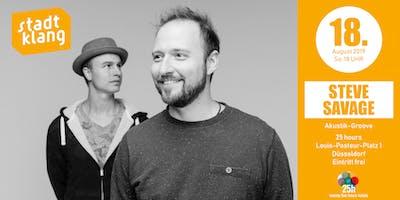 «stadtklang» m. STEVE Savage (Duo) / live im 25hours