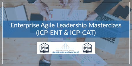 Enterprise Agile Leadership Masterclass(ICP-ENT & ICP-CAT) tickets