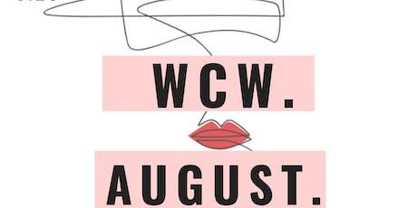 WCW. 8.28.19 tickets