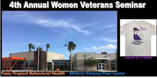 4th Annual Women Veterans Seminar (2 Day Event Fri. 9/27/19 & Sat. 9/28/19)