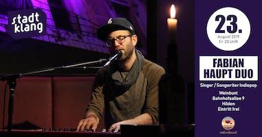 «stadtklang» m. Fabian Haupt Duo / live im weinbunt Hilden