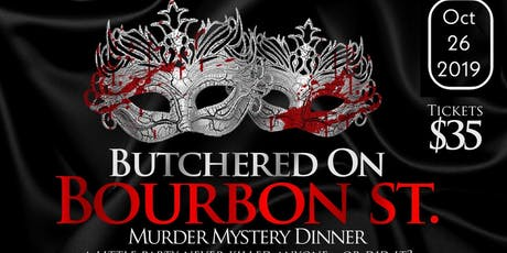 Murder Mystery Dinner Fundraiser tickets