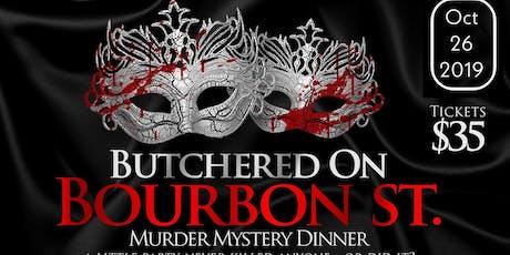 Murder Mystery Dinner Fundraiser tickets