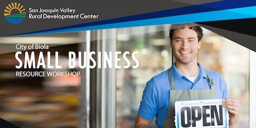 Biola Small Business Resource Workshop