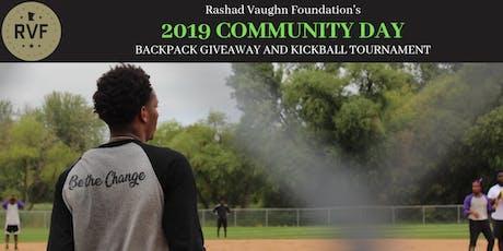 The Rashad Vaughn Foundation's 2019 Community Day tickets