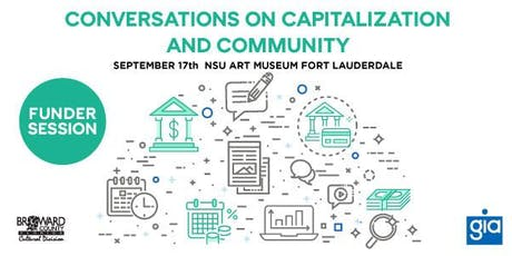 Funder Session: Conversations on Capitalization and Community Workshop tickets