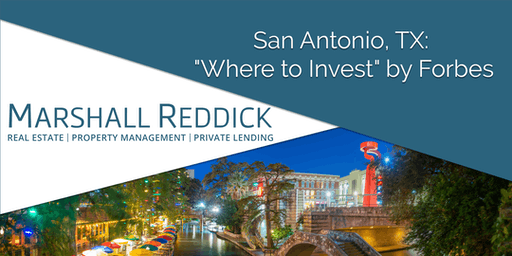 "San Antonio, TX: ""Where to Invest"" by Forbes"