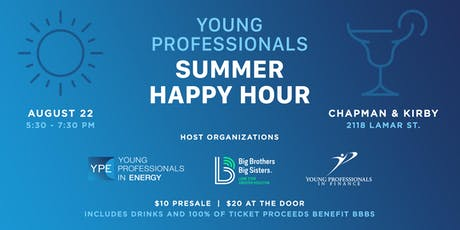 Young Professionals Summer Happy Hour tickets