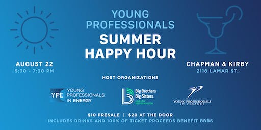 Young Professionals Summer Happy Hour