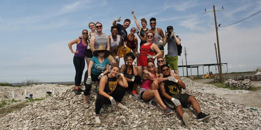 Oyster Shell Bagging - Coastal Louisiana Reef Restoration - Tulane and Public_September 21st, 2019