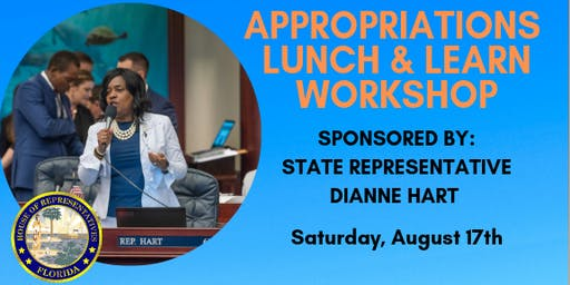 Appropriations Lunch & Learn Workshop