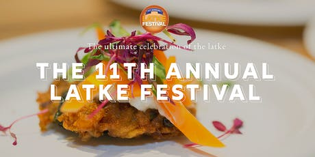 11th Annual Latke Festival tickets