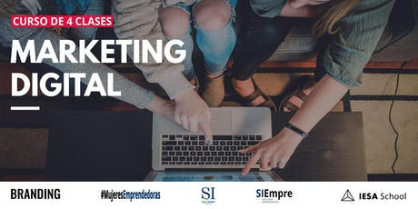 Curso de Gratuito de Marketing Digital entradas