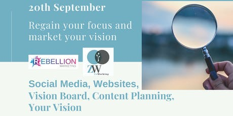 Regain the focus in your business - Marketing masterclass tickets
