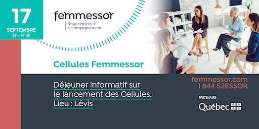 Déjeuner lancement des Cellules Femmessor | 17 septembre 2019 | Lévis