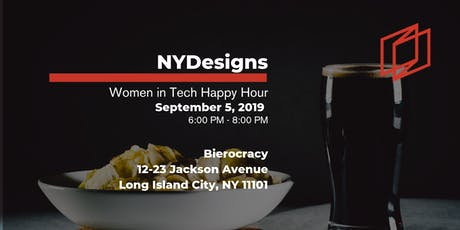NYDesigns Women in Tech Happy Hour tickets