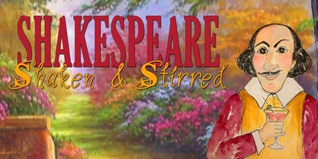 Shakespeare Shaken and Stirred, Benefiting Nebraska Shakespeare tickets