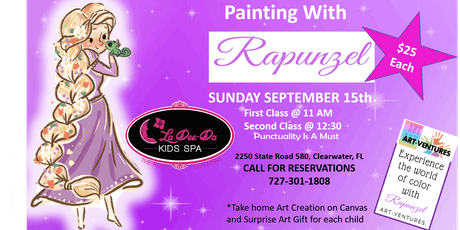Painting Party with the Tower Princess-2nd Seating tickets