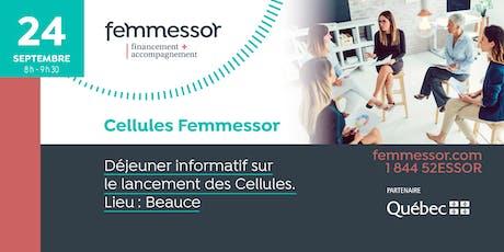 Déjeuner lancement des Cellules Femmessor   24 septembre 2019   Beauce billets