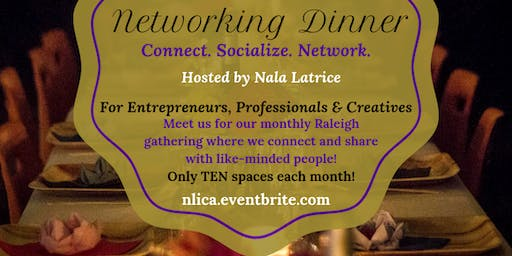 Networking Dinner by Nala Latrice