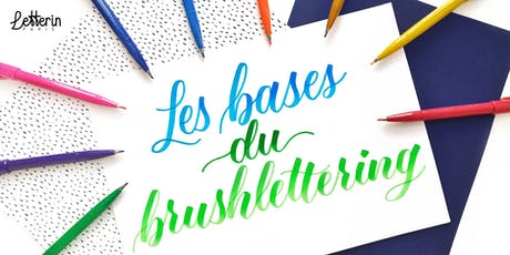 Atelier Initiation Brushlettering - PARIS 21 SEPT 2019 billets