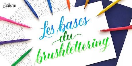 Atelier Initiation Brushlettering - PARIS 21 SEPT 2019 tickets