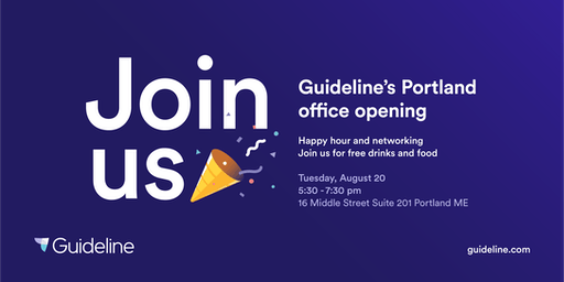 Guideline 401(k)'s Portland Office Opening: Happy Hour and Networking