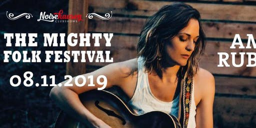 The Mighty Folk Festival 2019 mit Amber Rubarth, David Hope, One Boy Army