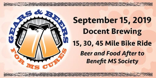 GEARS & BEERS for MS Cures 2019