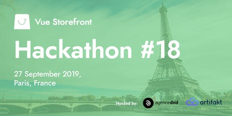 Vue Storefront Hackathon #18 @ Paris, France tickets