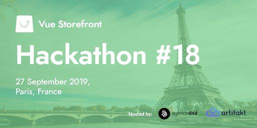 Vue Storefront Hackathon #18 @ Paris, France