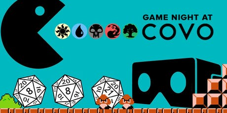 Game Night at Covo! tickets