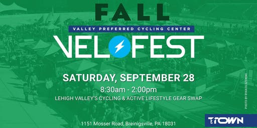 2019 Fall Velofest Vendor Registration