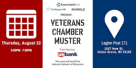 Q3 Chamber Muster tickets