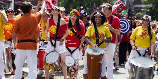 Sol Samba Drumming (1-1:30pm) at ROAR Festival