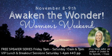 Awaken the Wonder Women's Weekend tickets