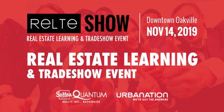 RELTE Show 2019: Real Estate Learning Tradeshow Event tickets