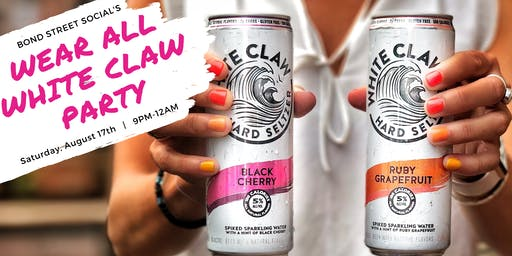 Wear All White Claw Party