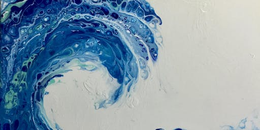 Splat Paint Pour Class - Make a Splash