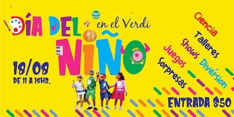 Día del Niño en el Verdi tickets