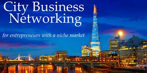 City Business Networking - Summer Drinks