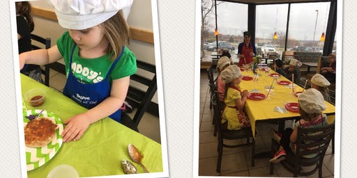 "70th & Pioneers Hy-Vee Lil' Chefs - ""Super Hero- Family Meals Month"""