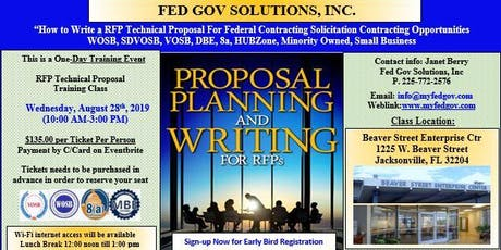 RFP Technical Proposal Writing Training Workshop tickets