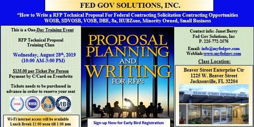 RFP Technical Proposal Writing Training Workshop