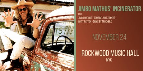 Jimbo Mathus' Incinerator feat. tickets