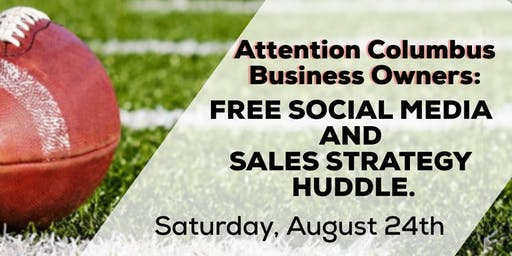 Free Social Media and Sales Strategy Huddle