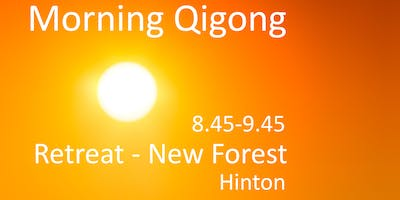 Introduction to Qigong - morning session.