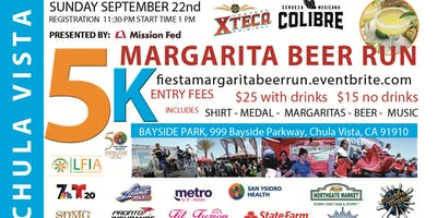 2nd Annual  Fiesta Margarita & Beer Run