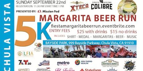 Fiesta Margarita & Beer Run tickets