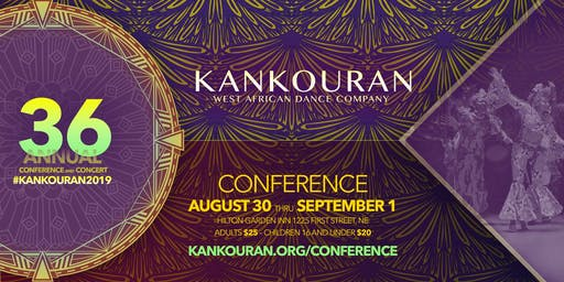 KanKouran: 36th Annual African Dance + Drum Festival VENDING Opportunities
